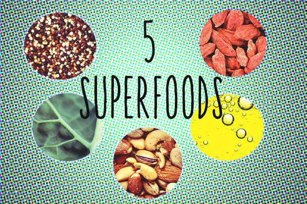 Five Super Foods For Beautiful-Looking Skin