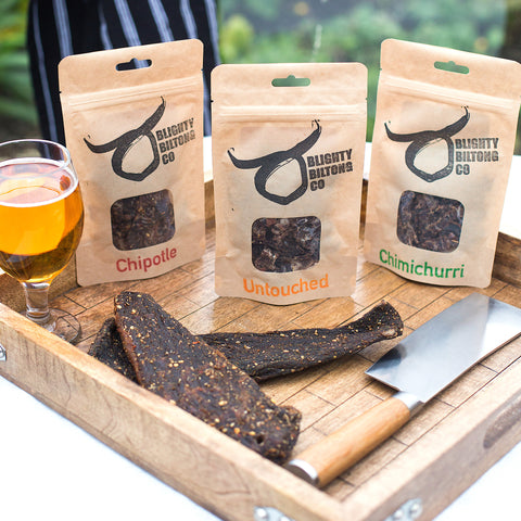 Welsh Wagyu Biltong - Collection pack - BlightyBiltongCo