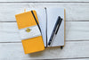 WIZARD COLLECTION Dot Grid Slim Notebook - Yellow Cover | LOYAL |