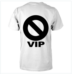 GRITS & BISCUITS (TM) 🚫VIP Tee (White)