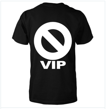 GRITS & BISCUITS 🚫VIP T-Shirt (Black)