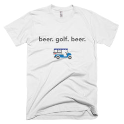 beer. golf. beer (White)