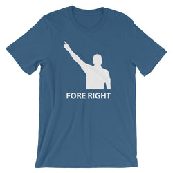 golficity | FORE RIGHT | t-shirt