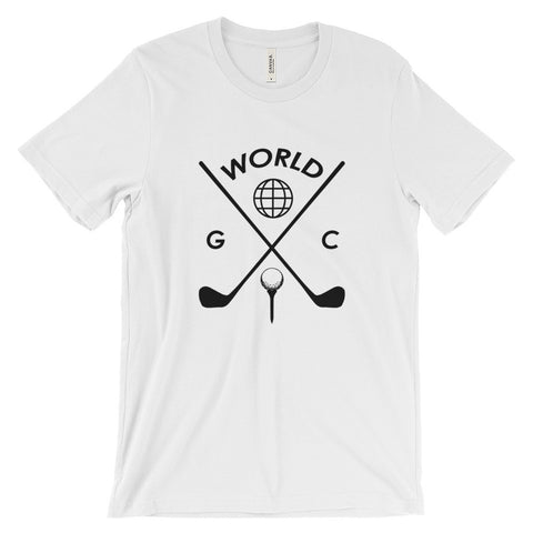 WORLD GC | t-shirt | @golf60s