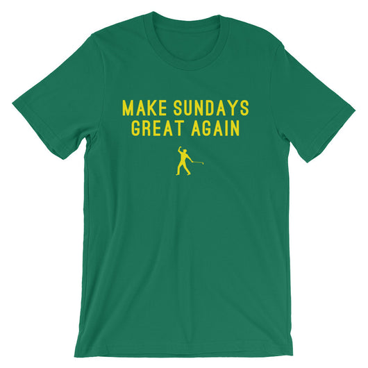 Make Sundays Great Again | T-shirt | Augusta