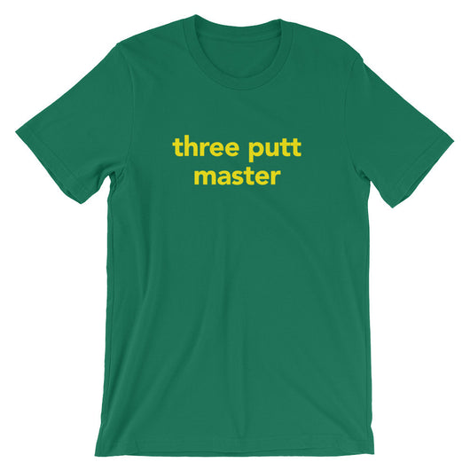 three putt master | T-shirt | Augusta