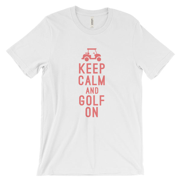 Keep Calm and Golf On | T-shirt