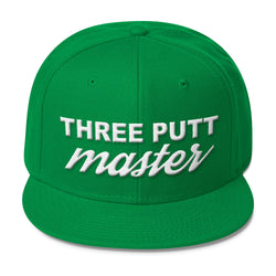 Three Putt Master - Snapback Hat