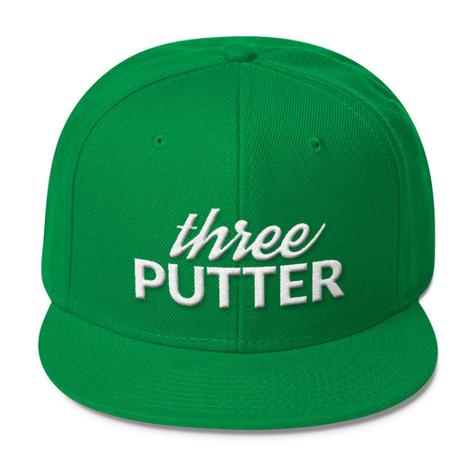 three PUTTER - Snapback Hat