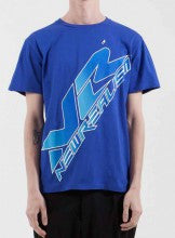 ETUDES - Top Page New Realism T-shirt Blue