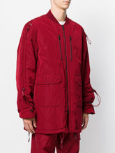 WHITE MOUNTAINEERING - Woven Parka Primaloft Burgundy