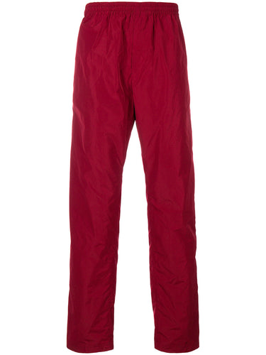 WHITE MOUNTAINEERING KNITTED PANT TAFFETA BURGUNDY
