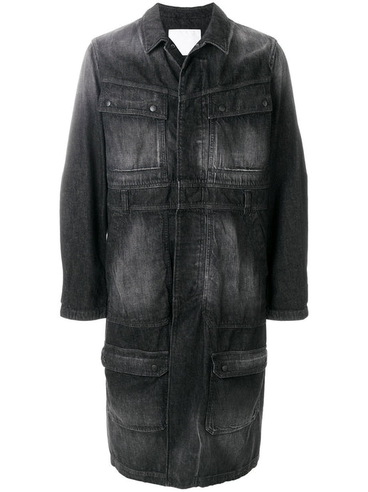 WHITE MOUNTAINEERING - Long Denim Coat