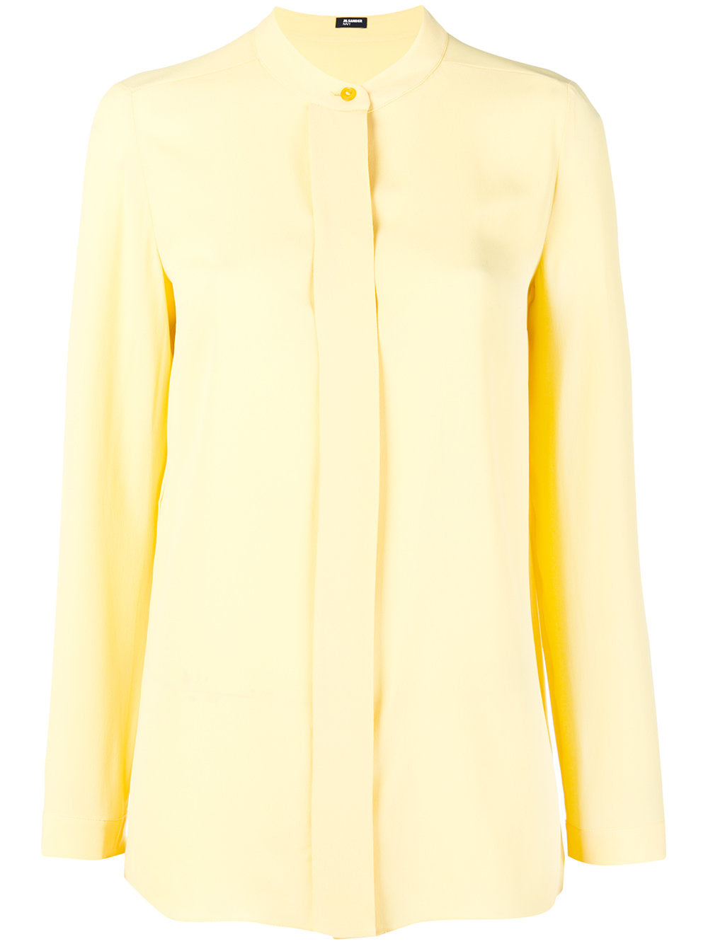 JIL SANDER NAVY - SINGLE BUTTON BLOUSE