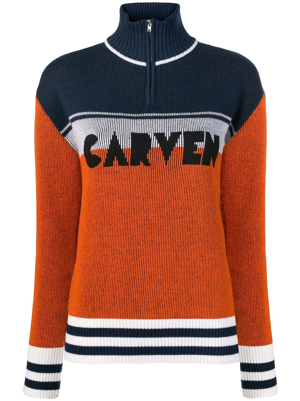 CARVEN - Colour Block Sweater