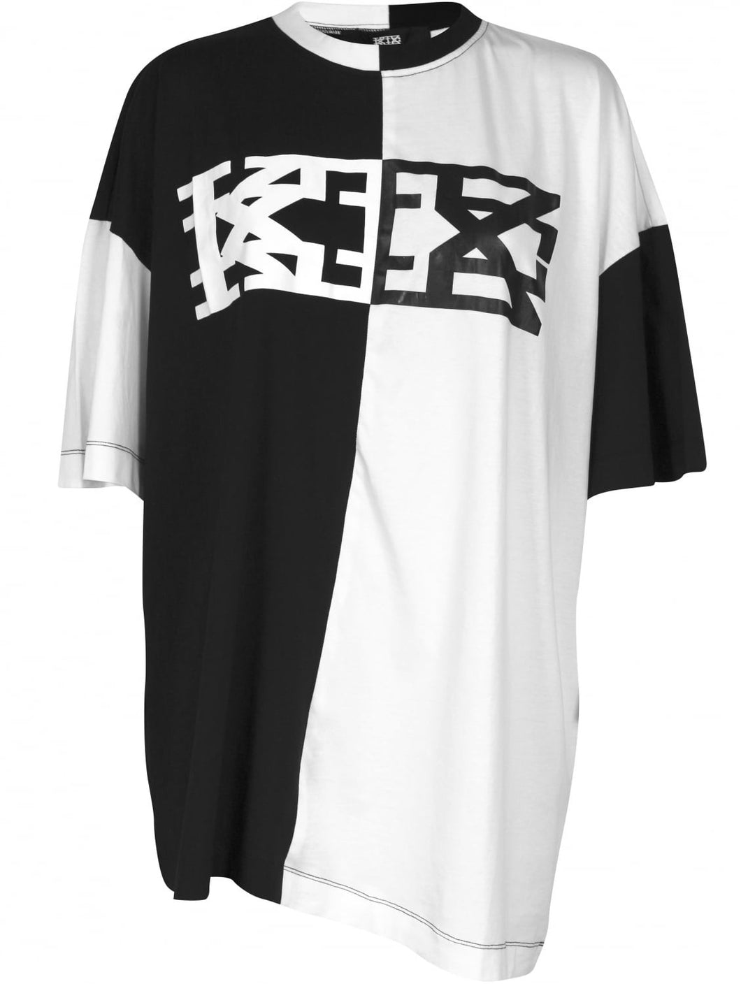 KTZ LOGO T-SHIRT BLACK/WHITE