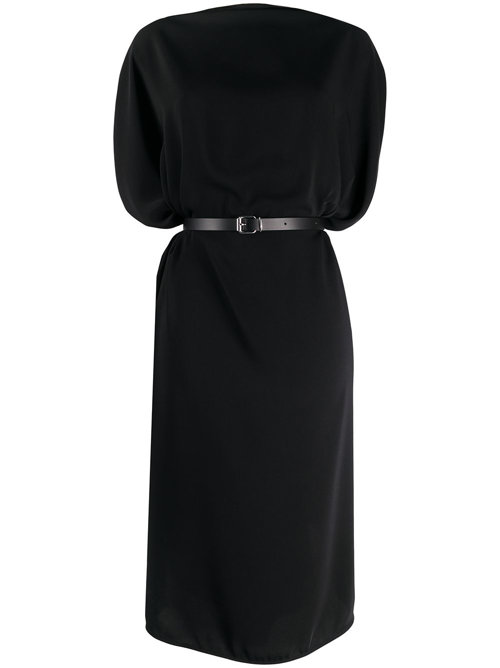 MM6 MAISON MARGIELA - Belted draped midi dress