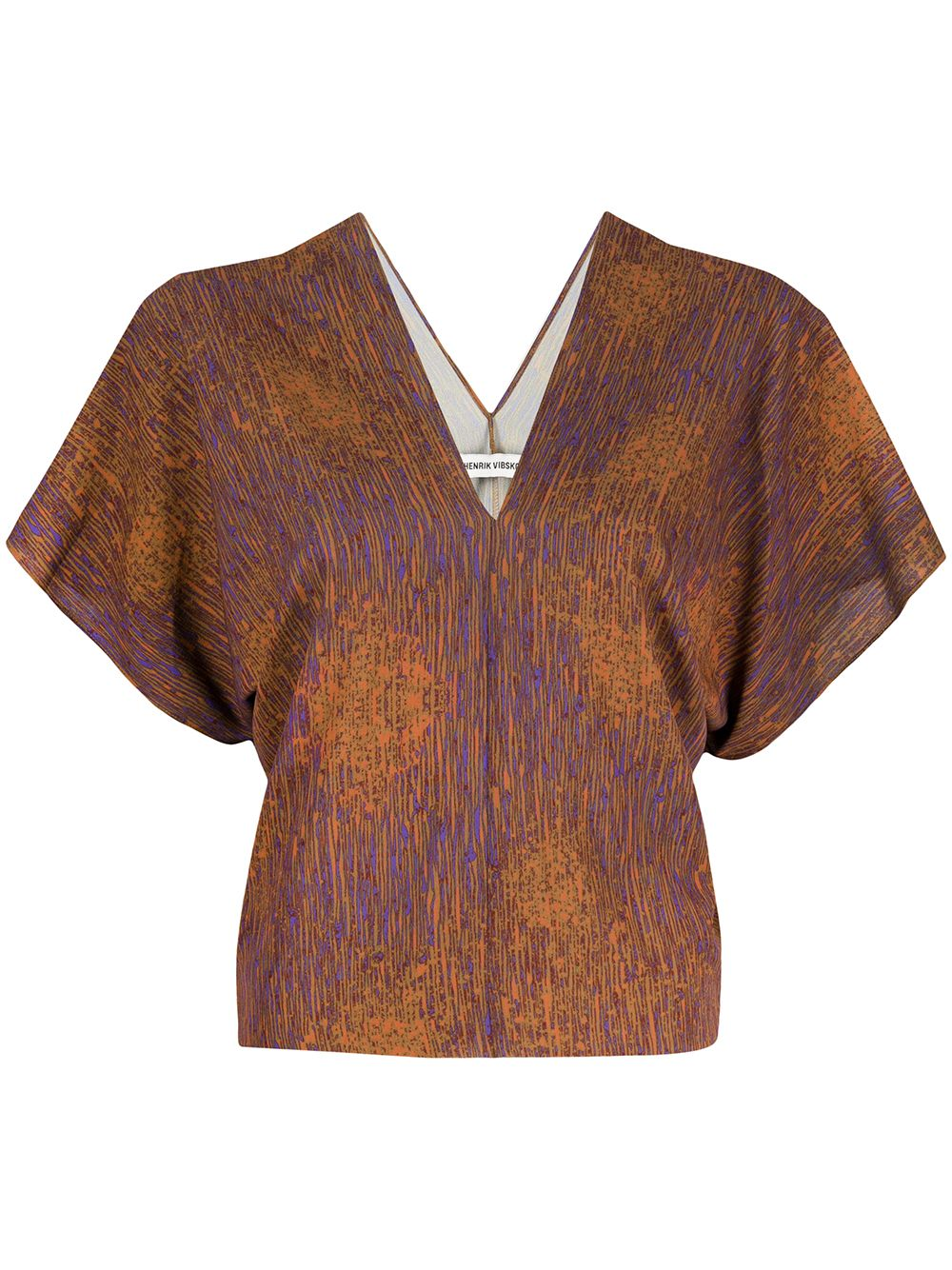 HENRIK VIBSKOV - Jelly Blouse - Melted Rust - COMING SOON