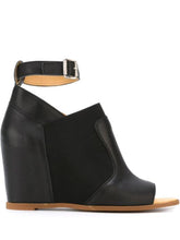 MM6 MAISON MARGIELA - Ankle Strap Wedge Sandals