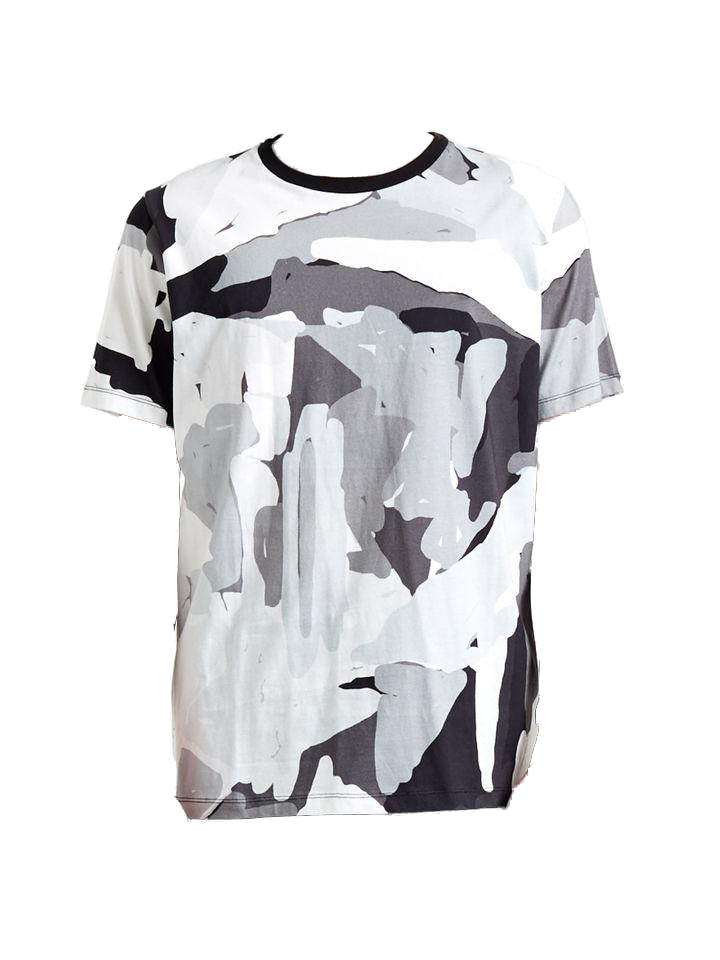 ETUDES  - Page Authentik Pirovino T-Shirt Multicolour