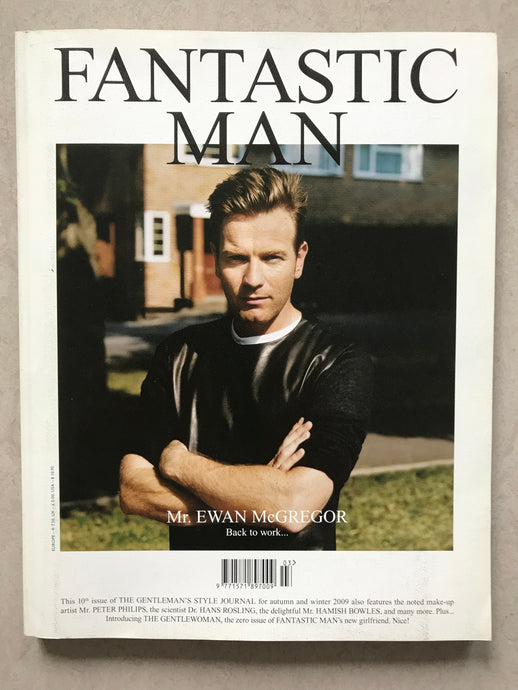 FANTASTIC MAN ISSUE NO. 10