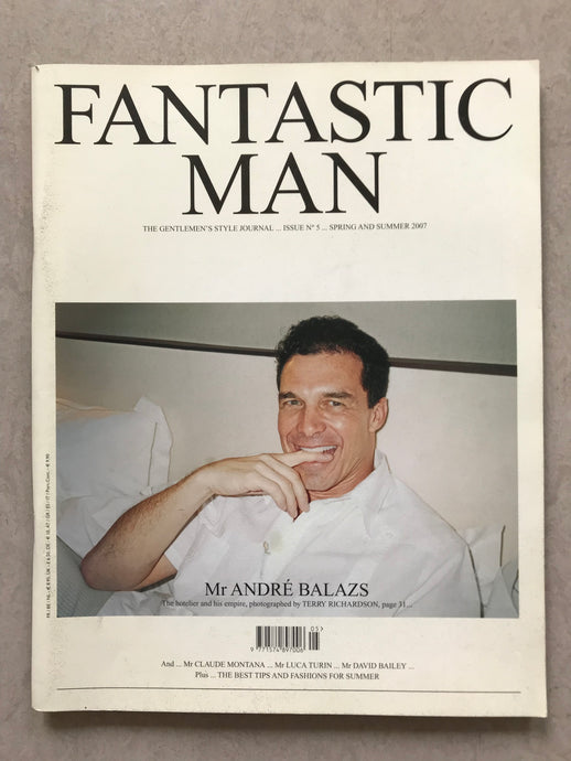 FANTASTIC MAN ISSUE NO. 05