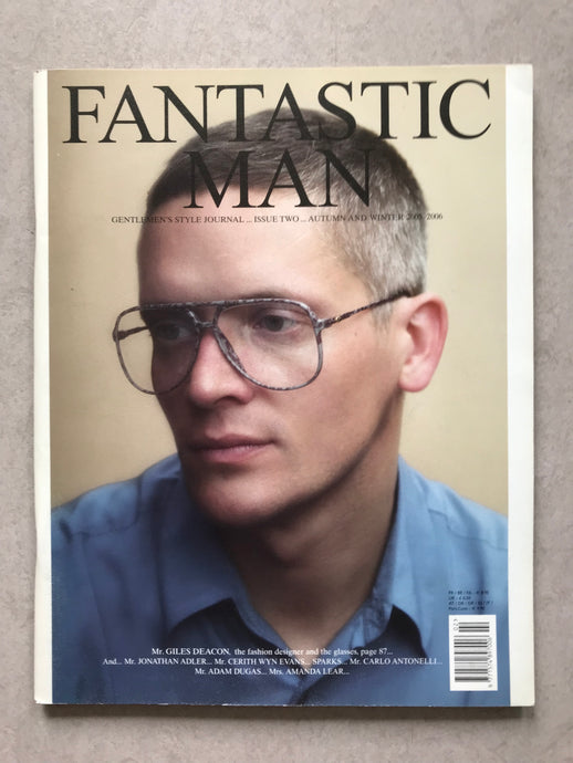 FANTASTIC MAN ISSUE NO. 02