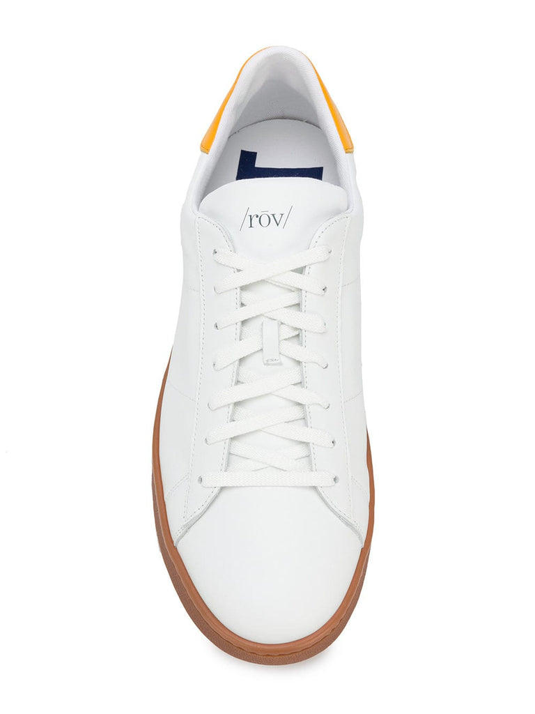 Rov sneakers white and orange