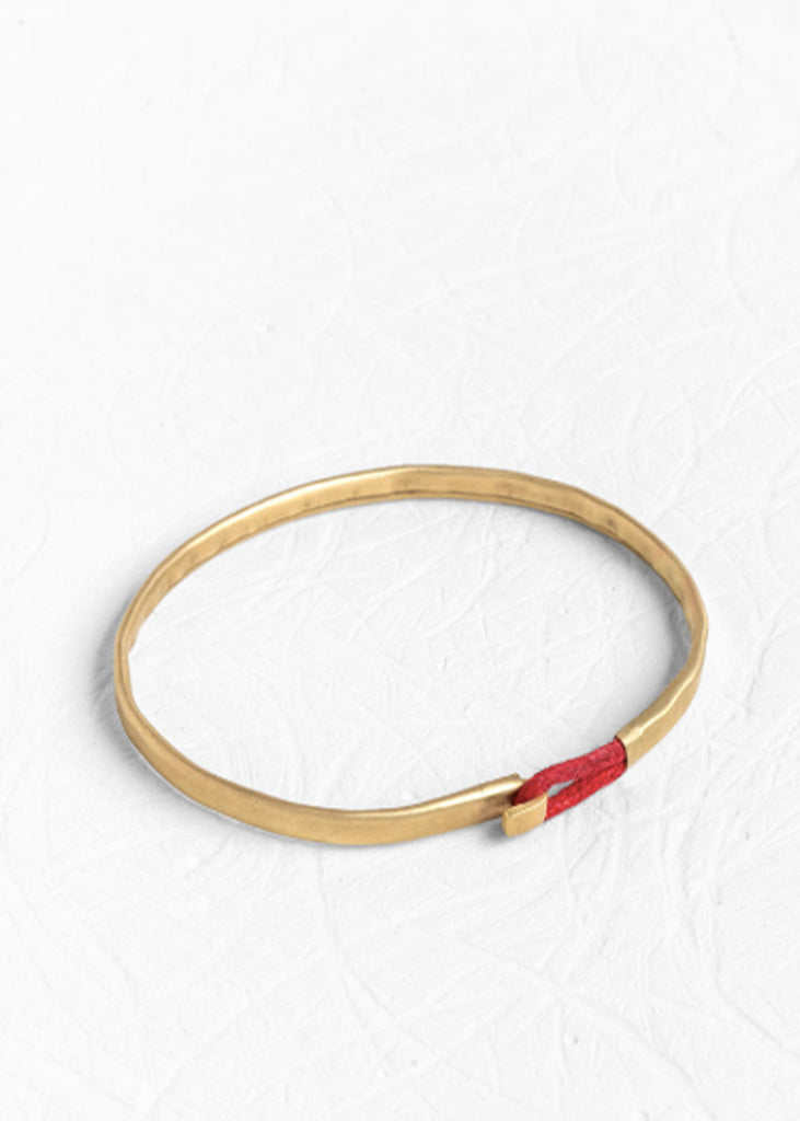 Agas & Tamar_Gold Bangle_B14K075