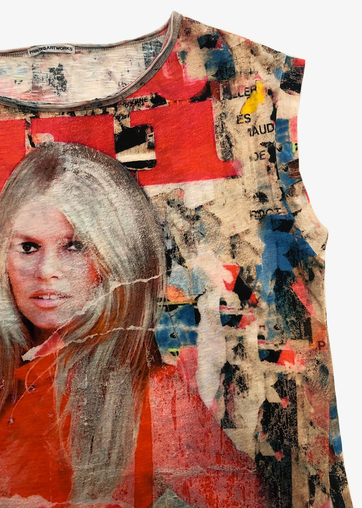 Printed Artworks Boxy T-Shirt Brigitte