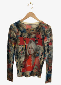 Printed Artworks_Fitted Crewneck_Brigitte Bardot_Cashmere Sweater