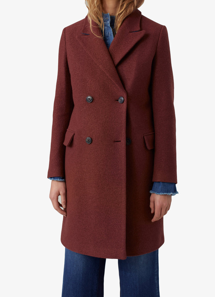 Closed Virgin Wool Coat