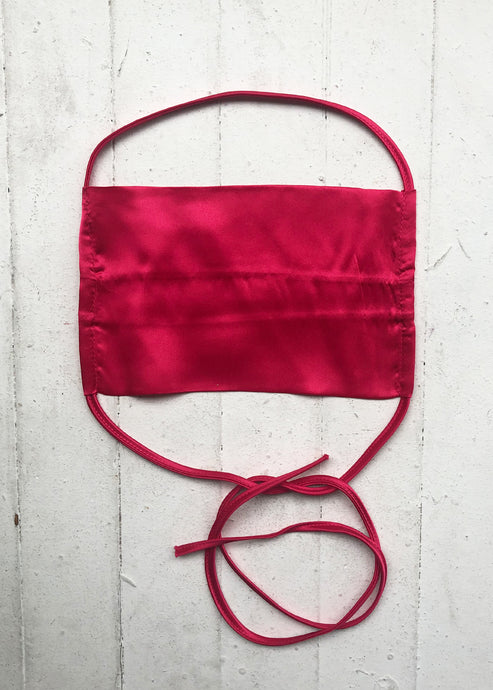 KES_Sustainable Washable Face Mask_Fuchsia_Face Mask_silk
