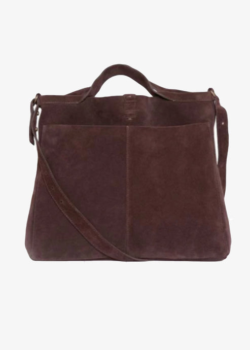 Jo Handbags_CHOCOLATE SHOPPER DAY SUEDE