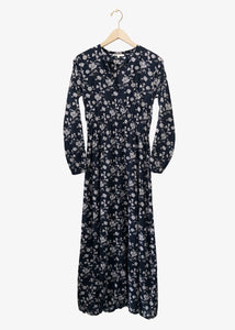 Local Ida Dress_LDV63900_Navy Floral