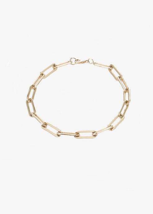 Mara MCS_RECTANGLE LINK CHAIN BRACELET