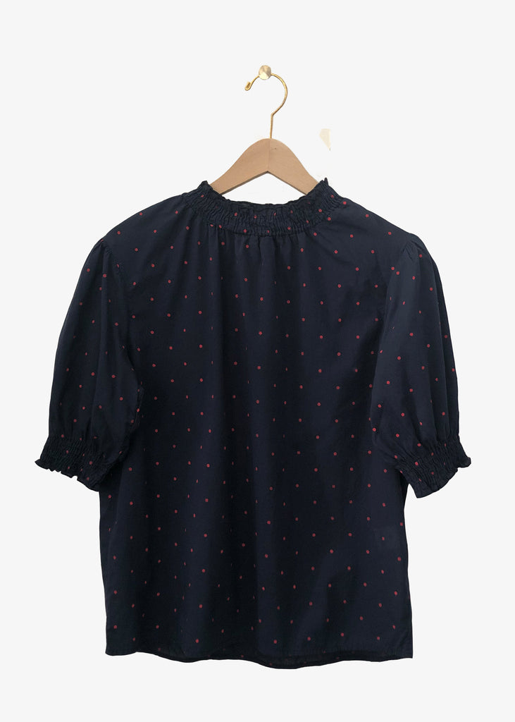 Local_Local Apparel_Bonita Shirt_Polka Dot_Short sleeve