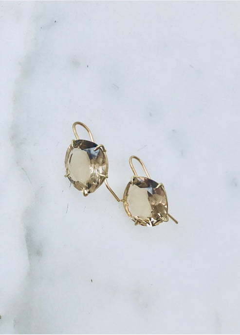 Rosanne Pugliese Champagne Citrine Earrings