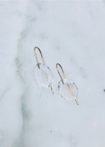 Rosanne Pugliese Mini Rock Crystal Earrings