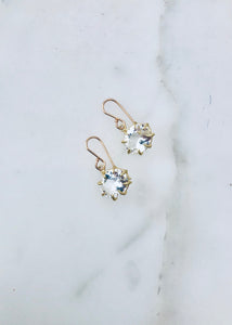 Rosanne Pugliese White Topaz Earrings