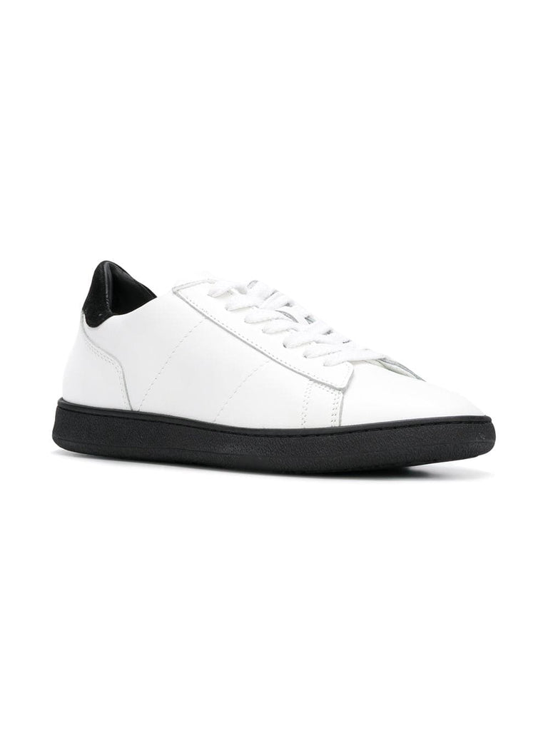 Rov Black Calf Leather Sneakers