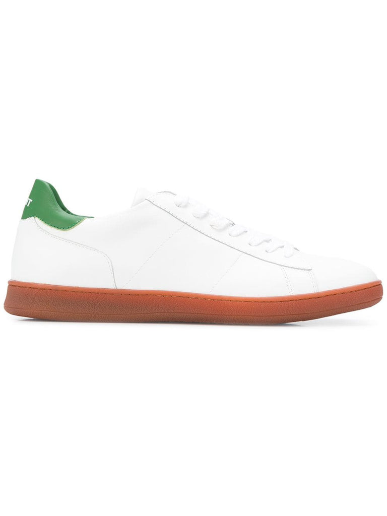 Rov Basic White & Green Sneakers