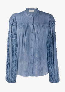 Ulla Johnson_Mari Blouse_Sky
