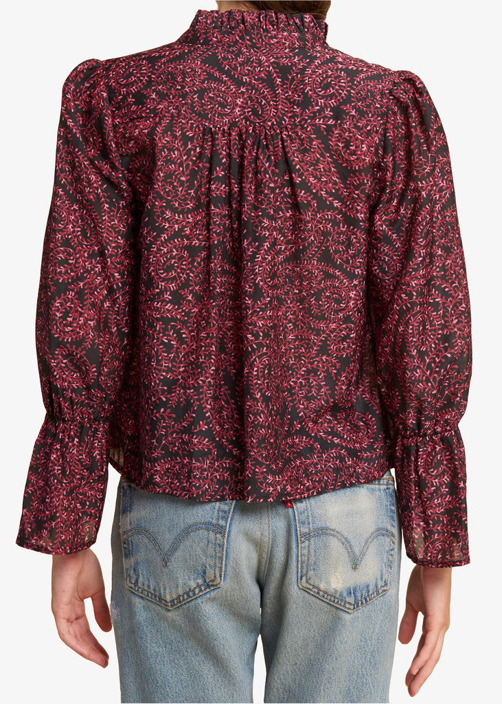 Warm_Warm August Blouse_Paisley Print