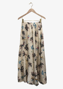 "forte_forte skirt in viscose with ""fiaba"" print"