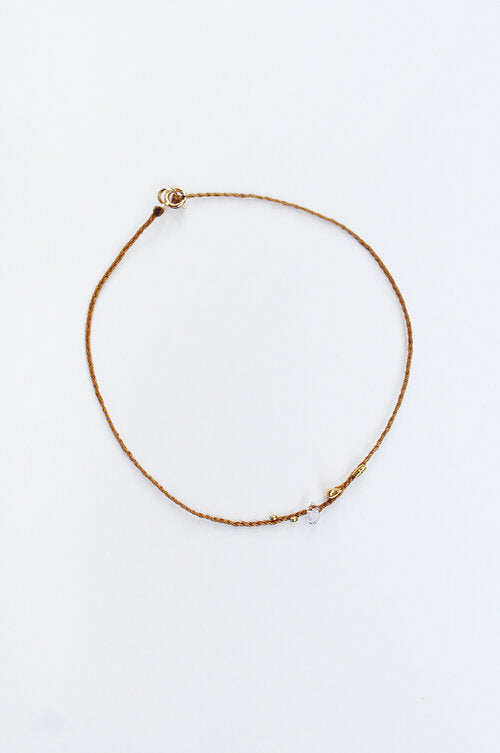 See Real Flowers_Gold Morning Bracelet