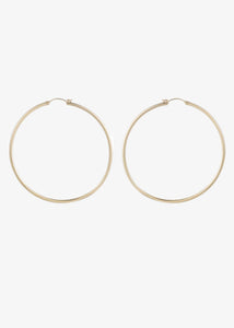 Mara Carrizo Scalise Large Thin Hoops 70mm