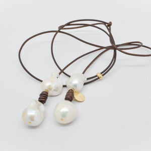 Perle By Lola necklace CU0329-WDB