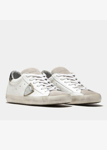 Philippe Model Paris Sneaker - Silver/White