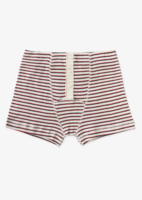 Hemen Biarritz_Boxer Albar_Stripe natural/red